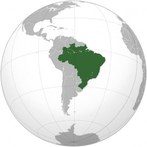 Where in the world is Brazil? See the map.