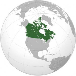 Where in the world is Canada? See the map.