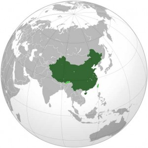Where in the world is Peoples Republic of China? See the map.