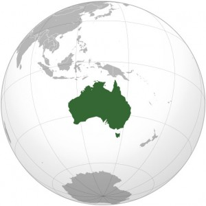 Where in the world is Australia? See the map.