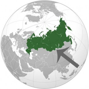 Where in the world is Russia? See the map.