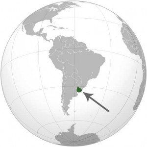 Where in the world is Uruguay? See the map.