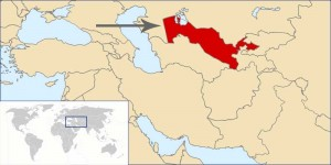 Where in the world is Uzbekistan? See the map.