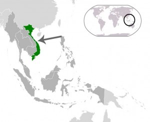 Where in the world is Vietnam? See the map.